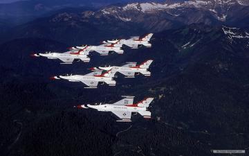 Photography wallpaper   USAF Thunderbirds wallpaper   1280x800