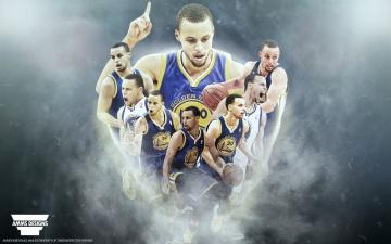 Stephen Curry Race For MVP Wallpaper by AMMSDesings