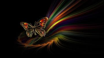 Butterfly Abstract HD Desktop Wallpaper HD Desktop Wallpaper