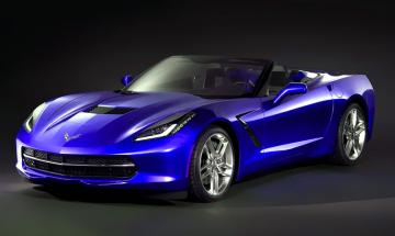 2014 Corvette Convertible Front Wallpaper HD Wallpaper