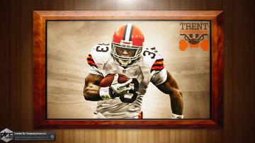 richardson browns hd wallpaper by chadski51 customization wallpaper