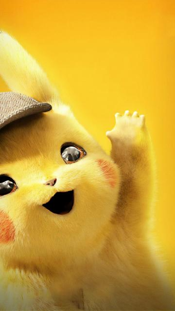 Cute Detective Pikachu Wallpaper   KoLPaPer   Awesome HD