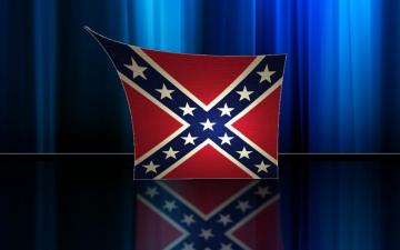 Confederate Flag Background