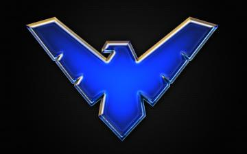 Nightwing logo Wallpaper by Benokil