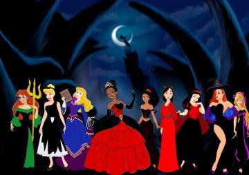 Disney Halloween by SuneeStride