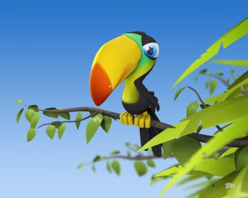 Animals Zoo Park Funny 3D Cartoon Wallpapers   Desktop Background