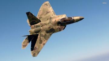 MARTIN F 22 RAPTOR IN ACTION 2014 HD