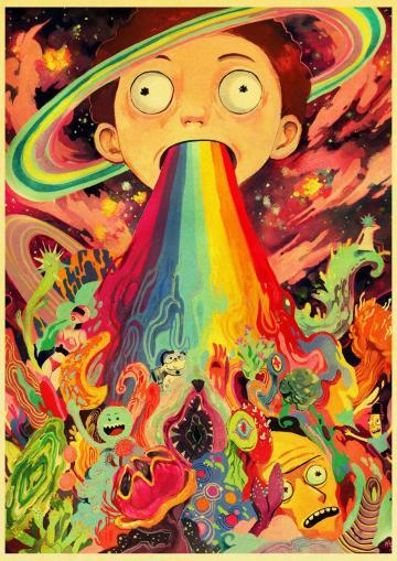 31] Retro Rick And Morty Wallpapers on WallpaperSafari