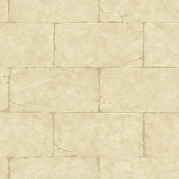 Gold Sandstone Block Wall Wallpaper   Wall Sticker Outlet