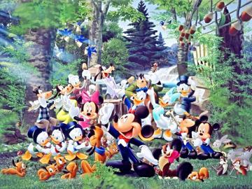 Walt Disney Wallpapers   The Magic of Music   Walt Disney Characters