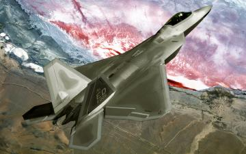 F22 Raptor Fly Over Wallpapers HD Wallpapers