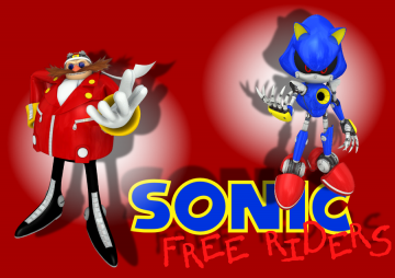 Free download Sonic Adventure DX Metal Sonic Wallpaper by