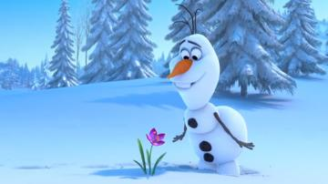 First Frozen Teaser Follows Fumbling Snowman Video   The Hollywood