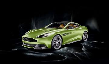 2014 Aston Martin Vanquish Mugiya Green 2 doors car HD resolution