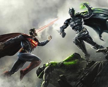 1280x1024 Batman vs Superman desktop PC and Mac wallpaper