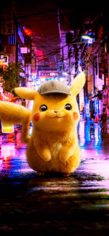 Detective Pikachu Iphone Wallpaper   KoLPaPer   Awesome HD