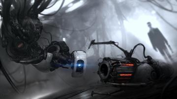 Portal Half Life funny Black Mesa GLaDOS G Man Half Life 2 Portal