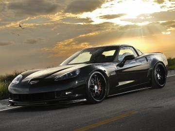 Black Chevrolet Corvette Wallpaper Hd 5958 Wallpaper Wallpaper hd