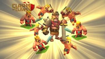Wallpaper Barbarian Clash of Clan Clash of Clans Barbarian King