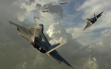 Lockheed Martin F 22 Raptor wallpaper
