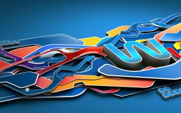 multicolor abstract multicolor graffiti Abstract Wallpapers