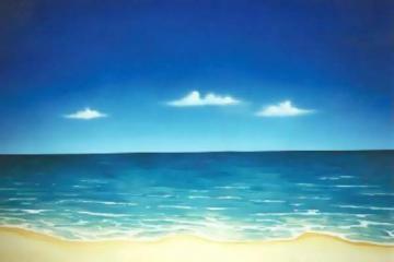 beach backdrop