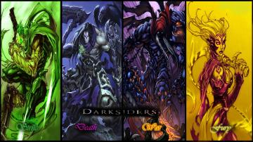 Darksiders The 4 Horsemen by ShabaazKhanDarksiders 4 Horsemen