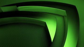 Wallpaper 3840x2160 nvidia green symbol 4K Ultra HD HD Background