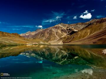 Lake of the Moon Photo India Wallpaper National Geographic Photo