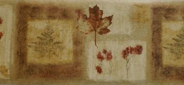 Autumn Leaves Wallpaper Border Leaves wallpaper border
