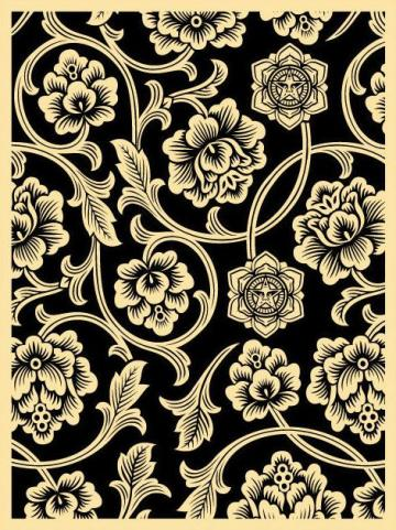 shepard fairey Pattern and Print Pinterest
