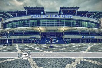Tampa Florida Tampa Bay Times Forum HDR Tampa Bay Lightning