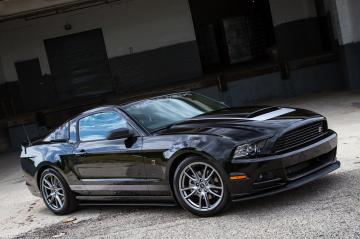 black mustang 2014 wallpaper Black Ford Mustang Wallpaper Car HD