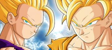 SSJ2 Teen Gohan vs SSJ2 Goku by Havoc419