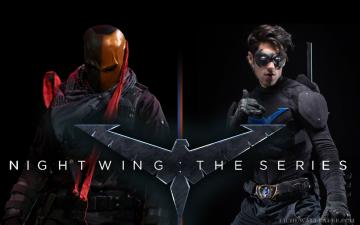 Nightwing Desktop HD Wallpaper