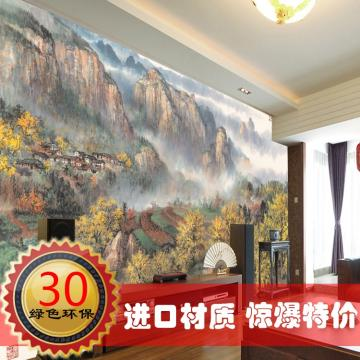 Landscape chinese style entrance wallpaper mural wallpaper ofhead