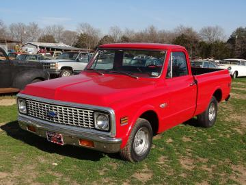Of Chevy Truck At The Little Valley Auto Ranch Belton Texas Wallpaper