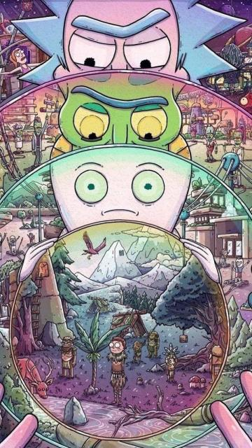 Wallpaper Iphone Rick And Morty Best 50 Background