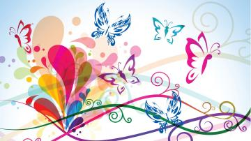 Colorful Butterfly Backgrounds Wallpaper 3 Cool Wallpaper