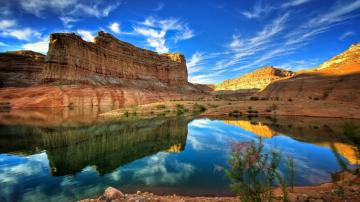 Canyon Colorado River HD Desktop Mobile Wallpaper Background   9walls