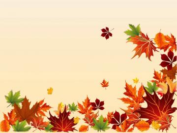 Fall Borders Clip Art Autumn Leaves