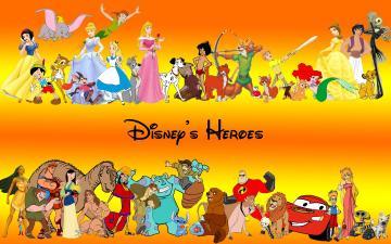Walt Disney Wallpaper Characters HD 9539 Wallpaper Cool