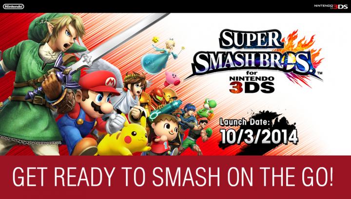 1024x614px Super Smash Bros 3DS Wallpaper