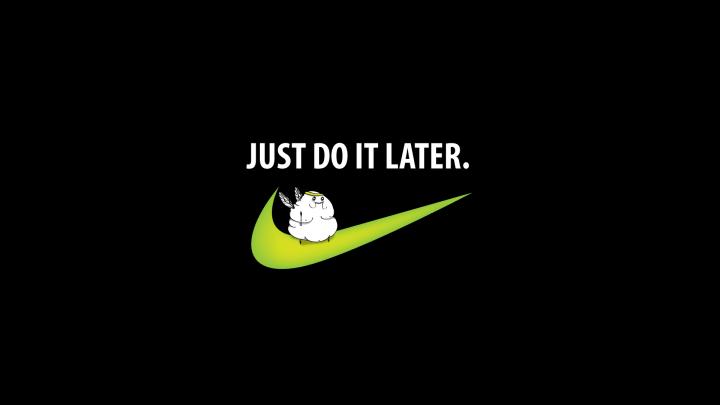 640x1136px Nike Girl Wallpaper