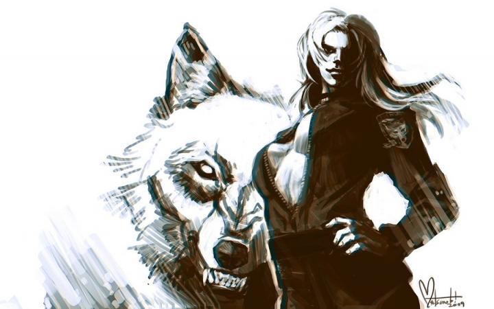 1440x900px badass wolf wallpaper wallpapersafari - Badass screensavers ...