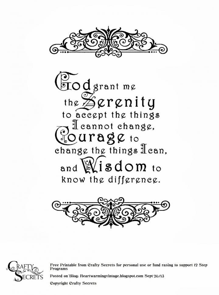 1052x1052px Free Serenity Prayer Wallpaper Wallpapersafari