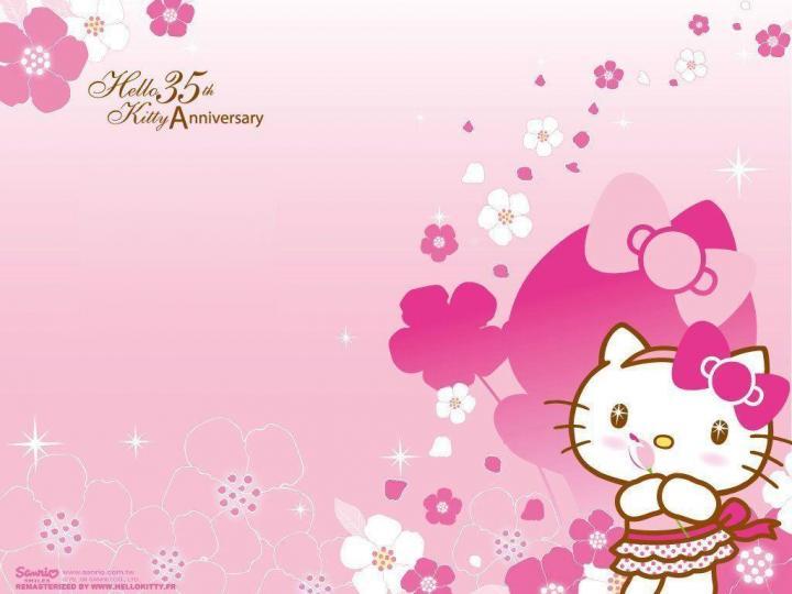 Hello Kitty Birthday Wallpaper Hd