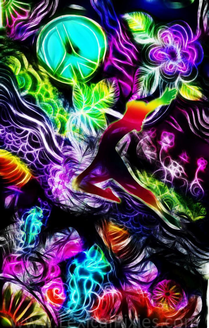 1000x288px Trippy Alice in Wonderland Wallpaper ...