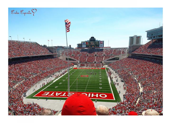 1024x768px Ohio State Stadium Wallpaper