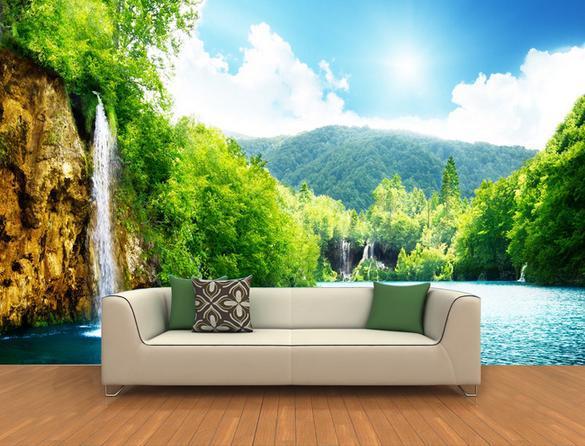 750x750px 3d Nature Wallpaper Murals Wallpapersafari